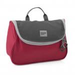 Spokey RESORT Kosmetická cestovní taška, červeno-šedá