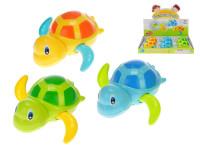Želvička plavající 12 cm na natažení - mix barev