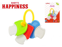 Chrastítko klíček 14 cm Baby\'s Happiness