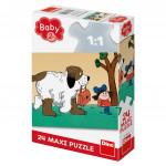 Puzzle 24 dílků Maxipes Fík maxi