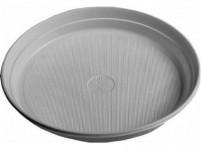 talíř mělký 20cm plastový, BÍ (24ks) jednorázový