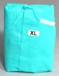 Plášť operační Basic XL nesterilní zelený Dina 1ks