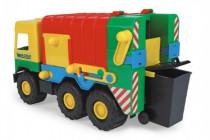 Auto middle Truck popelář plast 41cm Wader