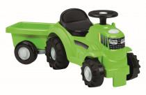 Odrážedlo Traktor s vlekem zelené