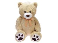Medvěd plyšový 100 cm s mašlí
