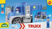 Auta Truxx policie v krabici