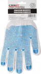 Rukavice textilní s eurozávěsem - Falo vel. 10 - 1 pár