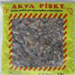 Písek akvarijní Akva č.10 - přírodní 3 kg 4 - 6 mm