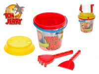 T&J sada na písek Tom & Jerry 4 ks
