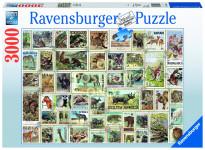 Zvířecí známky; 3000 dílků
