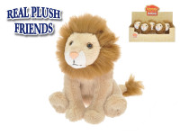 Lev plyšový 15 cm sedící