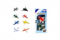 Letadla/stíhačka 2ks kov/plast 7cm - mix variant či barev