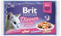 Brit Premium Cat kaps. -Jelly Dinner Pl. 340 g (4x85 g)