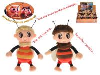 Příběhy včelích medvídků - Čmelda a Brumda plyšoví 15 cm na baterie s písničkami