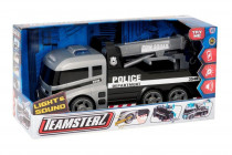 Teamsterz odtahový policejní vůz se zvukem a světlem