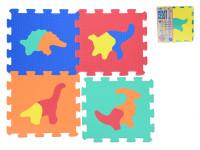 Pěnové puzzle Dinosauři 30x30cm