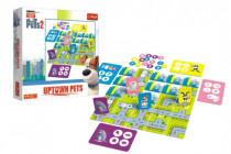 Tajný život mazlíčků 2 Uptown Pets společenská stolní hra