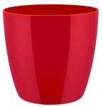 Elho obal Brussels Diamond - lovely red 22 cm - 3 ks