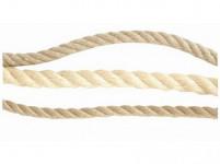 lano přírodní 16mm stáčené s PP (50m)