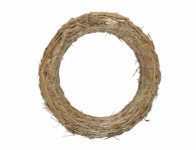 Kruh aranžovací slámový 23/3cm