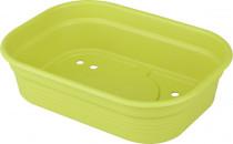 Elho spodní díl k minipařeništi Green Basics S - lime green