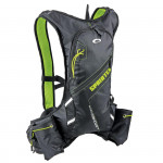 Spokey Sprinter cyklistický a běžecký batoh 5l zeleno/černý, voděodolný