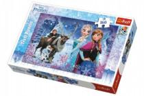 Puzzle Frozen/Ledové království Zimní dobrodružství 41x27,5cm 160 dílků
