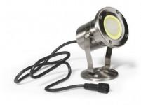 svítidlo LED IP68/2m - MR20 - teplé; nerez 304