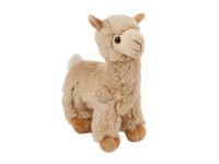 Lama plyšová 27 cm stojící