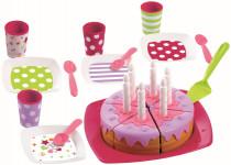 Narozeninový dort vč. příslušenství