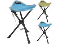 židle skládací trojnožka - mix barev