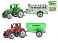 Traktor s vlečkou 17,5 -20 cm volný chod - mix variant či barev