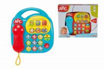 Baby telefon, na baterie, 20 x 20 cm - mix variant či barev