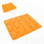 forma na rohlíčky 15ks 24,5x20,8x1,2cm silikon