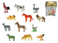 Zvířátka farma 3-5 cm 12 ks - mix variant či barev