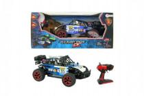 Auto RC buggy modré plast 28cm s dálkovým ovládáním na baterie