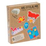 Set Re-cycle me pro holky – stojan na vajíčka