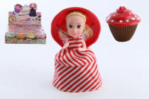 Panenka/Cupcake plast 15cm vonící v krabičce 4. série - mix variant či barev