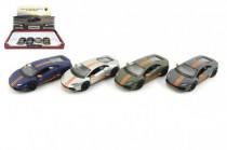 Auto Kinsmart Lamborghini Huracan kov 12cm na zpětné natažení - mix barev