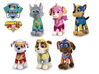 Paw Patrol Mighty pups plyšoví 27 cm stojící - mix variant či barev