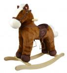 Houpací poník hnědý 46 cm