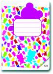 Sešit A5/524 Gummy Bears 20 listů linkovaný - VÝPRODEJ