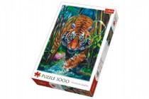 Puzzle Dravý Tygr 1000 dílků 48x68cm
