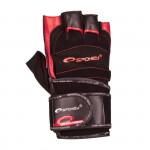 Spokey Miton fitness rukavice černo-modrá vel. XL