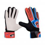 Spokey CATCH II brankářské rukavice roz. 4 modro-červené