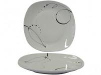 talíř mělký 25cm CHANSON dekor porcelánový