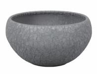 Žardinka LUNA BARANDE keramická šedá matná d19cm