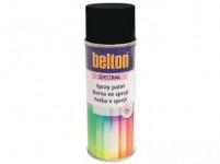 barva ve spreji BELTON RAL 9005pl, 400ml ČER pololesklá