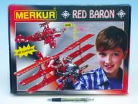 Stavebnice MERKUR Red Baron 40 modelů 36x27cm