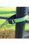 Vodítko Alcott refl. s přeskou zelená 153 cm